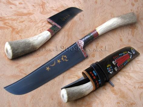 Нож пчак своими руками сделать